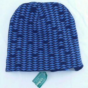 L.L. Bean Accessories - L.L.Bean Reversible Beanie Warm Winter Hat DigiKni 69a873d4d1da